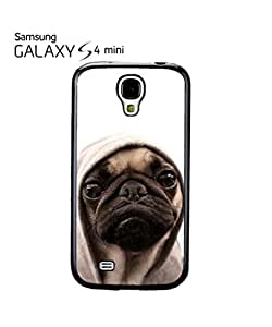 Pug Life Grumpy Dog Mobile Cell Phone Case Samsung Galaxy S4 Mini White