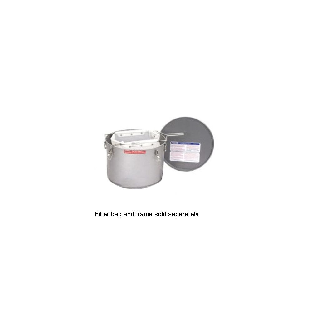 Miroil 40L/02040 35 Lb. Grease Bucket / Filter Pot With Lid
