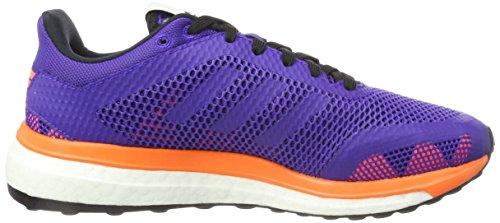 adidas Damen Response+ W Gymnastikschuhe Violett (Energy Ink F17/Energy Ink F17/Solar Orange)