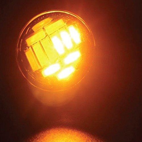 Jtech 2x 15W 12 SMD LED Dual Lights Eagle Eye Back Up Reverse Daytime Running Signal Light Bulb