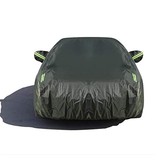 HFFTLH Car Cover Compatible with Lexus Model Series Dust/Waterproof/Sun Protection/UV Protection,Green,GS300