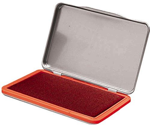 Gummistempel rot 7 x 11cm Gr.2 Stempelkissen f