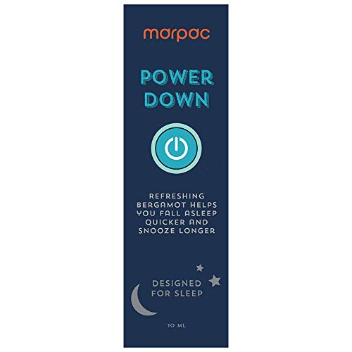 Marpac Yogasleep | Power Down (Bergamot) | Natural Essential Oil Blend for Sleep & Relaxation | Premium Aromatherapy Sleep Scent Diffuser Oil | 10 ml