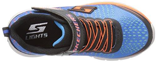 Skechers Jungen Erupters IILava Arc Low-Top Blau (BLOR)