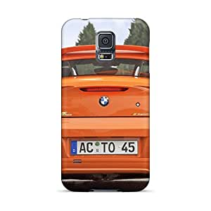 Sanp On Cases Covers Protector For Galaxy S5 (orange Bmw Ac Schnitzer V8 Topster Rear)