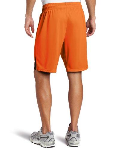Der PUMA Herren Shorts ohne inneren Rutschkupplung Orange-Schwarz (Team Orange-black)