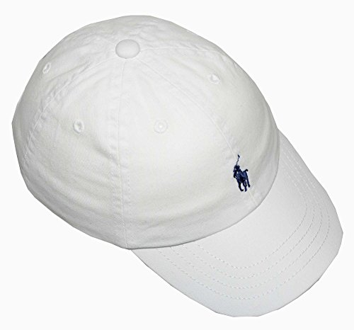 Ralph Lauren Polo Infant Boys Hat Ball Cap (One size , White)