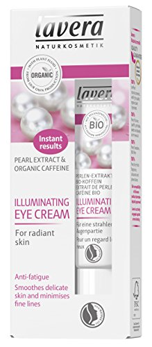 Lavera Lavera organic pearl extract and caffeine illuminating eye cream, 0.5oz, 0.5 Ounce