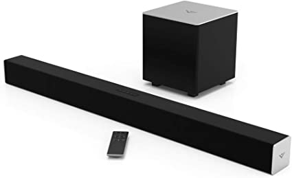 "VIZIO 10.10 Sound Bar SB101010-C10 with Wireless Subwoofer Bluetooth 100dB SPL,  Black, 10"""