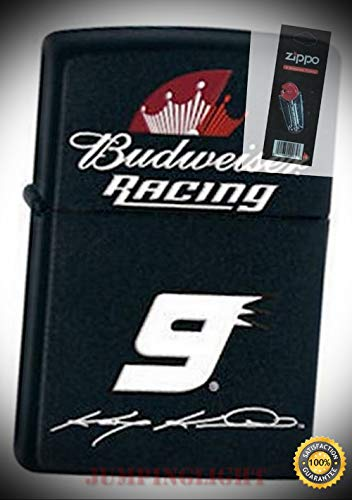 24730 Kasey Kahne #9 Lighter with Flint Pack - Premium Lighter Fluid (Comes Unfilled) - Made in USA!
