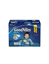 GoodNites Bedtime Underwear for Boys (Size S/M, 74 ct.) BOBEBE Online Baby Store From New York to Miami and Los Angeles