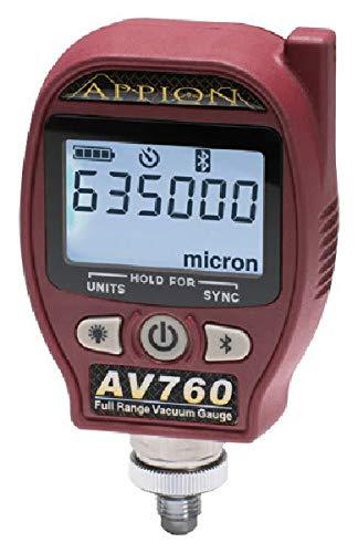 Appion AV760 Full Range Digital Vacuum Gauge (Best Micron Vacuum Gauge)