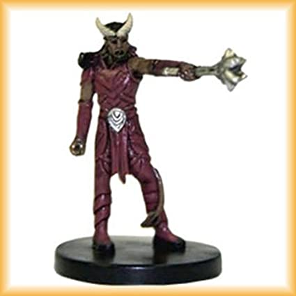 Amazoncom D D Minis Tiefling Warlock 47 Dungeons Of Dread