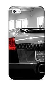 Hot IlTDRvb2250sIauG Lamborghini Murcielago Lp6 Roadster Back Tpu Case Cover Compatible With Iphone 5c