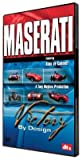 MASERATI DVD: Victory by Design. Historic, race-winning cars driven hard. Unique footage of rare cars, hidden in private collections; until now.
