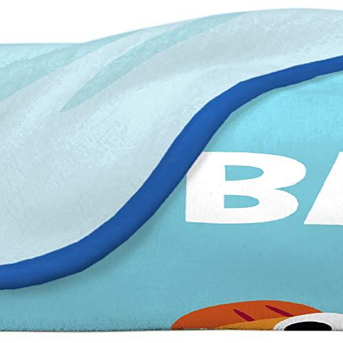 "41mQ8zVrWLL - Franco Kids Bedding Super Soft Plush Throw, 46"" x 60"", Baby Shark"