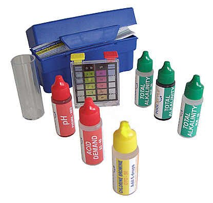 5-Way Swimming Pool/Spa Water Chemical Test Kit