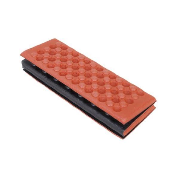 YEAH67886Outdoor portabilità schiuma pieghevole cuscino per sedia da campeggio esterno cuscino (rosso) 4 spesavip