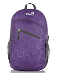 Outlander Packable Handy Lightweight Travel Backpack Daypack-Purple-L