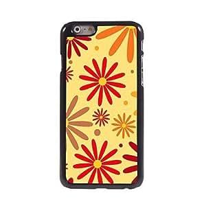 XB- Flowers Design Aluminum Hard Case for iPhone 6