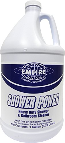 (Shower Power - Powerful Bathroom Cleaner From Concentrate - Tub and Shower Cleaner - Cleans Tubs, Toilets, Urinals, Fixtures & More-1 Gal. )
