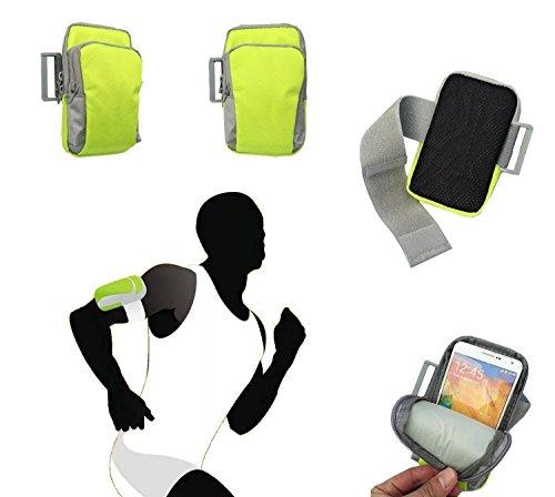 - Tsmine Asus ZenFone 2 Deluxe Sports Gym Armband Wrist Bag Case - Fashional Running Jog Outdoor Hiking Sports Gym Keys Money Pouch Armband Wrist Bag Case, Green