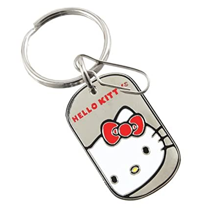 e9c4dfce9 Image Unavailable. Image not available for. Color: Plasticolor 004272R01 Key  Chain-Hello Kitty
