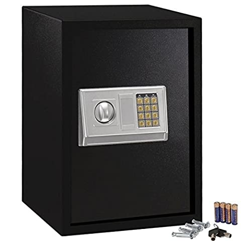NEW Large Digital Electronic Safe Box Keypad Lock Security Home Office Hotel Gun (Mod Podge Accessories)