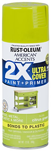 Rust-Oleum 327887-6 PK American Accents Spray Paint, Gloss Citrus -