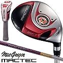 マグレガー ゴルフ マックテック MACTEC FH101 レッド フェアウェイウッド FH5255F カーボンシャフト 5W/SR