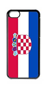 HeartCase Hard Case for Apple iPhone 5C(The national flag of Croatia )