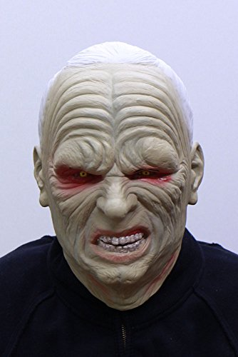 Star Wars Darth Sidious Full Face Rubber Mask (Made in Japan) (Palpatine Darth Sidious)