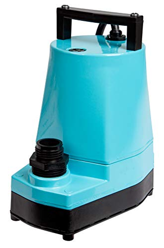 Little Giant 505005 1/6 HP Submersible Utility Pump, 5-MSP, 115V, 1200GPH ()