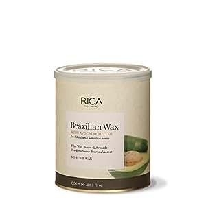 Amazon.com: Rica Cera brasileño con mantequilla de aguacate ...