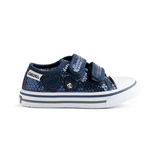 CANGURO Jungen Sneaker Grau Grau 29 EU Blau