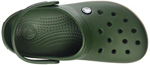 Sabots Green Band Vert Crocs Mixte Clog Slate Forest Grey Adulte Hg0q07Z