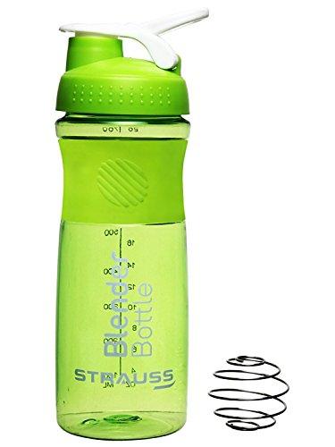Strauss Blender Shaker Bottle 760ml, (Green)