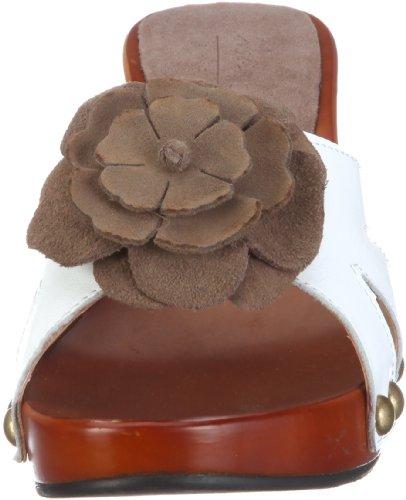 Andrea Conti 1003146 1003146 - Zuecos de cuero para mujer Blanco