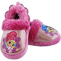 Nickelodeon Shimmer and Shine Toddler Girls Plush Aline Slippers