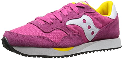 SAUCONY Rosso scarpe TRAINER S60124 26 DXN donna fuxia sneakers F4awFrq