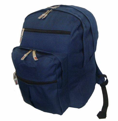 (K-Cliffs Multi pockets Backpack School Bag Day Pack Book bag.18)