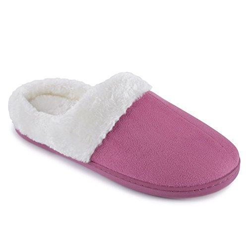 Pink Donna Pantofole Slumberzzz Pantofole Slumberzzz 0qEOx0twI