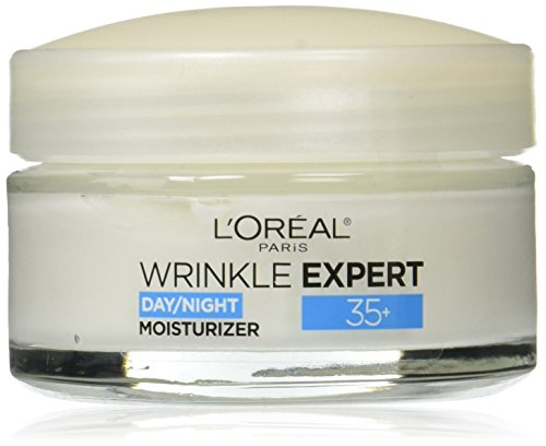 L'Oreal Paris Wrinkle Expert 35+ Collagen Anti-Fine Lines Hydrating Face Moisturizer (Best Collagen For Wrinkles)