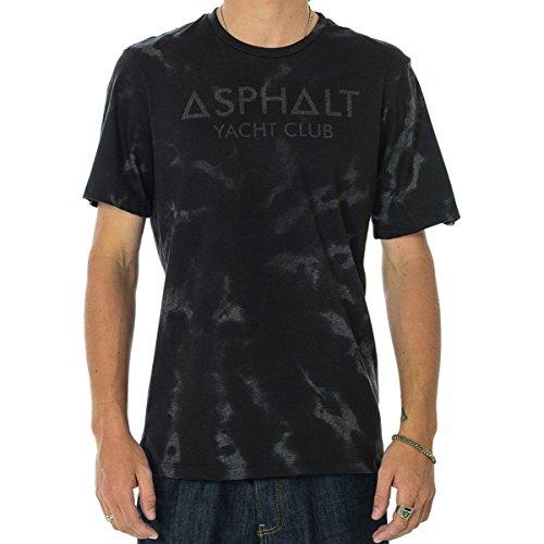 Asphalt Yacht Club Mens Heardsman Short-Sleeve T-Shirt/Tee, Beluga, Small