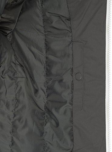 Tilden Piumini Cappuccio Mezza Dark Uomo Giacca Da Stagione solid Di Grey 2890 Giubotto Con fqwXSd4Sx