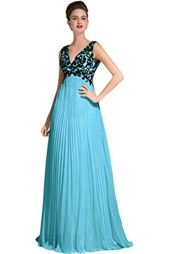 Sunvary - Traje de vestir - para mujer Azul
