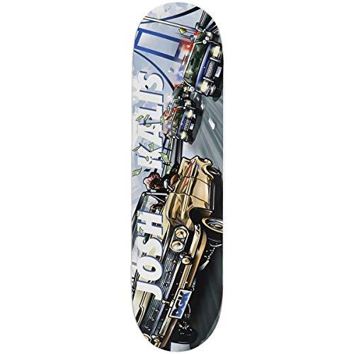 ほとんどの場合大きさ退化するDGK Cruisin Kalis スケートボードデッキ - 8.25インチ