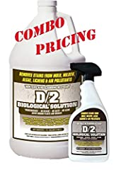 D2 Biological Solution 1 gallon/ 1 quart Combo Pack