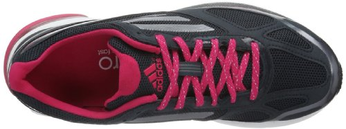 Adidas Adizero Boston 4 W - Zapatillas de running Negro (Schwarz (Night Shade F13 / Tech Grey Met. S14 / Vivid Berry S14))