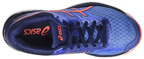 Asics Gt-2000 5, Scarpe Running Donna Blu (Regatta Blue / Flash Coral / Indigo Blue)
